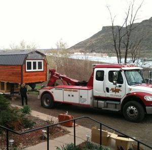 moving a tiny house