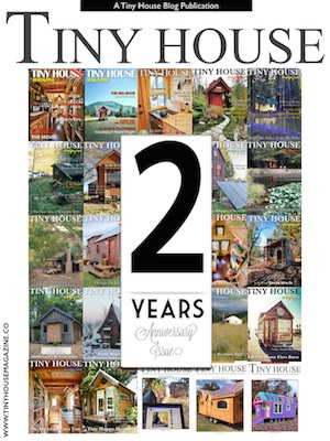 tiny house magazine celebrates two years