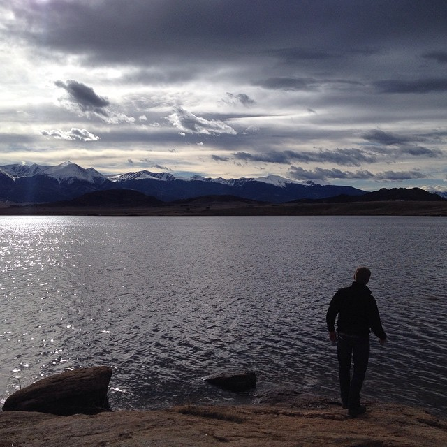ryan corson fishing in westcliffe colorado
