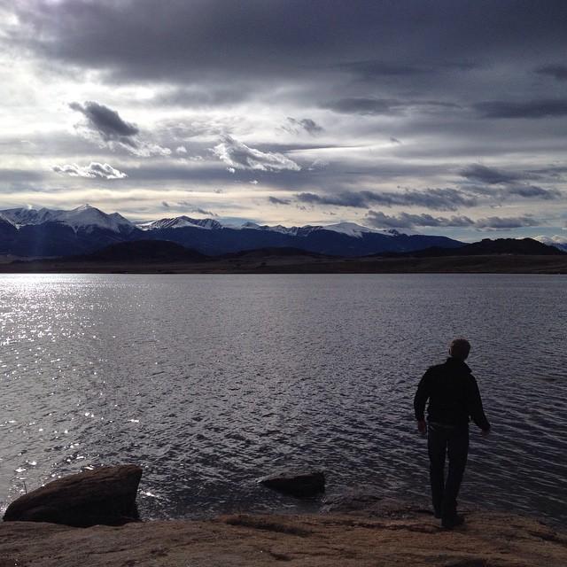 ryan corson fishing in westcliffe colorado